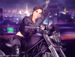 Biker by Jay-Kennedy