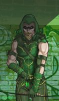 green Arrow by rawddesign