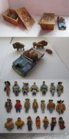 Wooden Toy Carvings by pesim65
