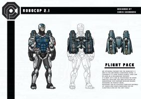 Robocop 2.1 - Flightpack by Christhopper