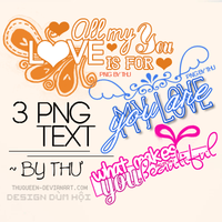 PNG_Text by ~ ThuQueen by ThuQueen