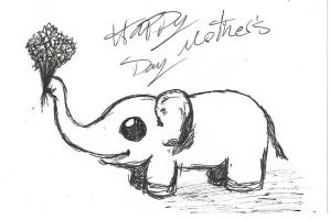 Happy Mother's Day by CaffeinatedSketches