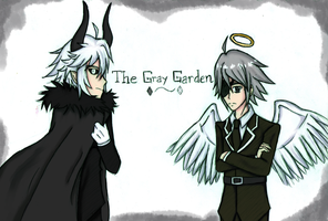 [The Gray Garden] Kcalb and Wodahs by Tochiotome-chan