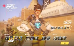 Tracer - Character select 01 by Guntharf