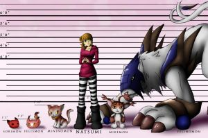 Digimon Lineup by Rise-of-Heroes