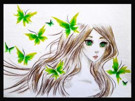 Green Girl by Alysta92