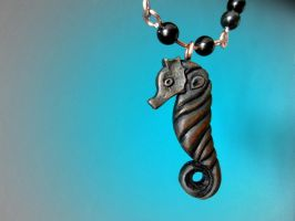 SEA HORSE PENDANT by MassoGeppetto