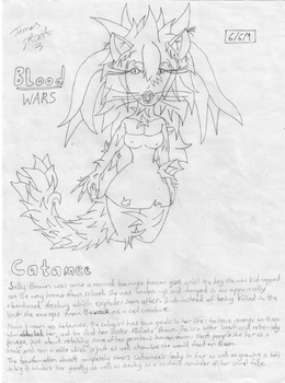 Catamee from Blood Wars by yoshielectron