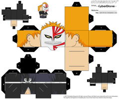 Cubee - Ichigo 2 'Bleach' by CyberDrone