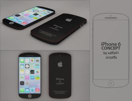 iPhone 6 Concept Design by zaffa91