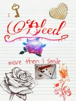 I bleed more then i smile by jadeshade34