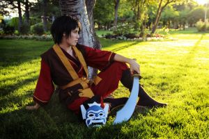 Avatar the Last Airbender: The Blue Spirit by xXBrokenMemoriesXx