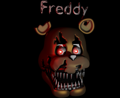 Nightmare freddy's head (WIP) Without texture by Apprenticehood