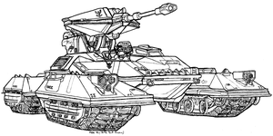 M808 Main Battle Tank (Scorpion) by Dandelo1