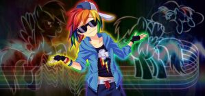 Rainbow Dash WP by YuiRainbowStar
