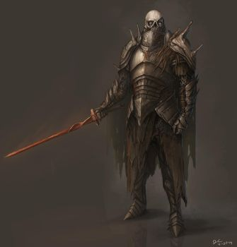 Dark Souls Armor Concept 2 by BABAGANOOSH99