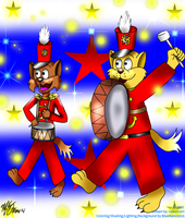 March of the Kats (collab version) by BlueMario1016