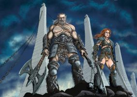 Barbarians Diablo III by Resarum