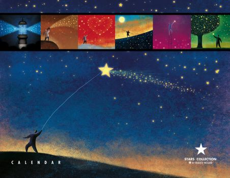 Stars Collection - Calendar by roweig