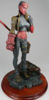 Hellgirl 5, Garage Kit by Harkon72