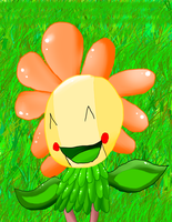 sunny the sunflower AT by ChicaSuperKiller