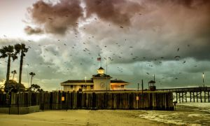 Newport Beach Life Guard Station by Bartonbo