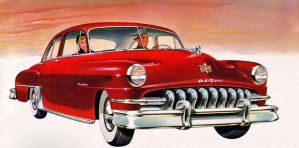 age of chrome and fins : 1951 DeSoto by Peterhoff3