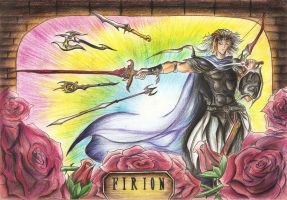 Rainbow Firion - FF2 by Paulcellx
