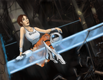 Chell - Portal 2 by RosieFreakish