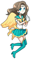 Sailor Aquila by MilkPeach