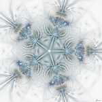 Snowflakes-crystalline structure by innac