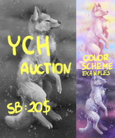 YCH Canine Auction CLOSED by Bluefirewings