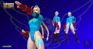 Ultra Street Fighter 4 Killer Bee Cammy by Sticklove
