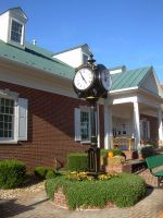 Town Square Clock by abuseofstock