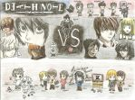 Death Note Cast! by cholokmosooki