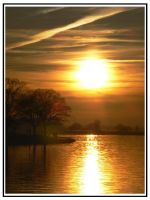 Oulton Broad Sunset I by e-s-d