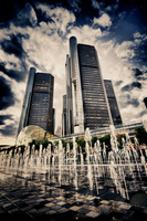 RenCen Fountain by SeekToBeKnown