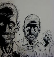the walking dead by eduardo1995