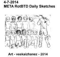 META RotBTD 2014 Daily Sketch 7-4 by veekaizhanez