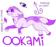 Ookami Updated Ref 2010 by MidnightAlleyCat