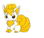 Sherbet the Vulpix by pikachumasterfriends