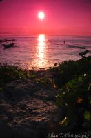 Sunset in Kuta by FirstMeasure