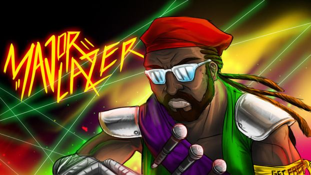 Major Lazer by DonMocko