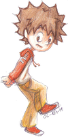 WUT? - Little Tsuna by AelitaC