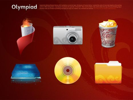 Olympic Games Icon Design 6 by gaolewen
