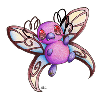 Contest Prize: Chibi Butterfree by KGScribbles
