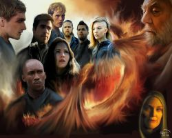 Hunger Games by graphicartmaddy