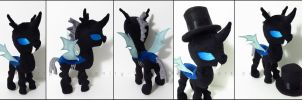Plushie: Changeling - My Little Pony: FiM by Serenity-Sama