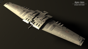 Apex aerospace fighter by Progenitor89