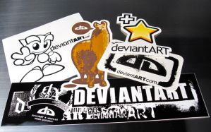 dA Sticker Pack by DeviantArtGear